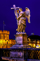 """Angel with the Cross - Ponte Sant'Angelo – Rome""… <br />