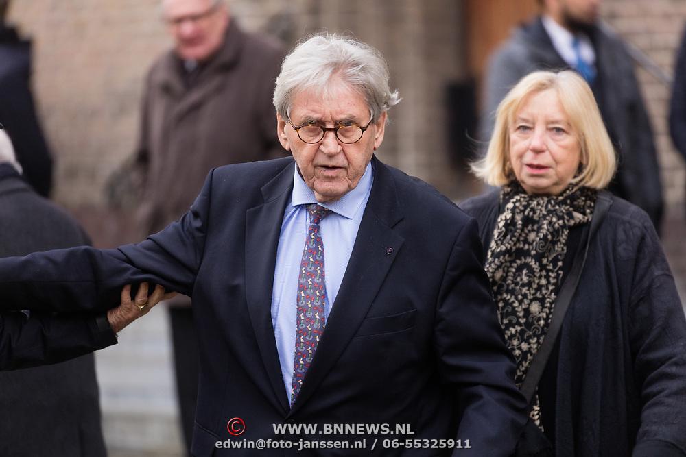 NLD/Rotterdam/20180220 - Herdenkingsdienst Ruud Lubbers, Bram Peper
