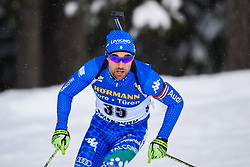 March 9, 2019 - –Stersund, Sweden - 190309 Thomas Bormolini of Italy competes in the Men's 10 KM sprint during the IBU World Championships Biathlon on March 9, 2019 in Östersund..Photo: Petter Arvidson / BILDBYRÃ…N / kod PA / 92252 (Credit Image: © Petter Arvidson/Bildbyran via ZUMA Press)