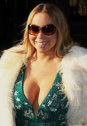 Mariah Carey leaving her hotel in London, London UK, 17 March 2016, Photo by Brett D. Cove