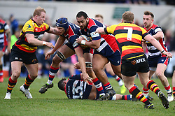 Soane Tonga'uiha of Bristol Rugby - Mandatory by-line: Dougie Allward/JMP - 30/12/2017 - RUGBY - The Athletic Ground - Richmond, England - Richmond v Bristol Rugby - Greene King IPA Championship