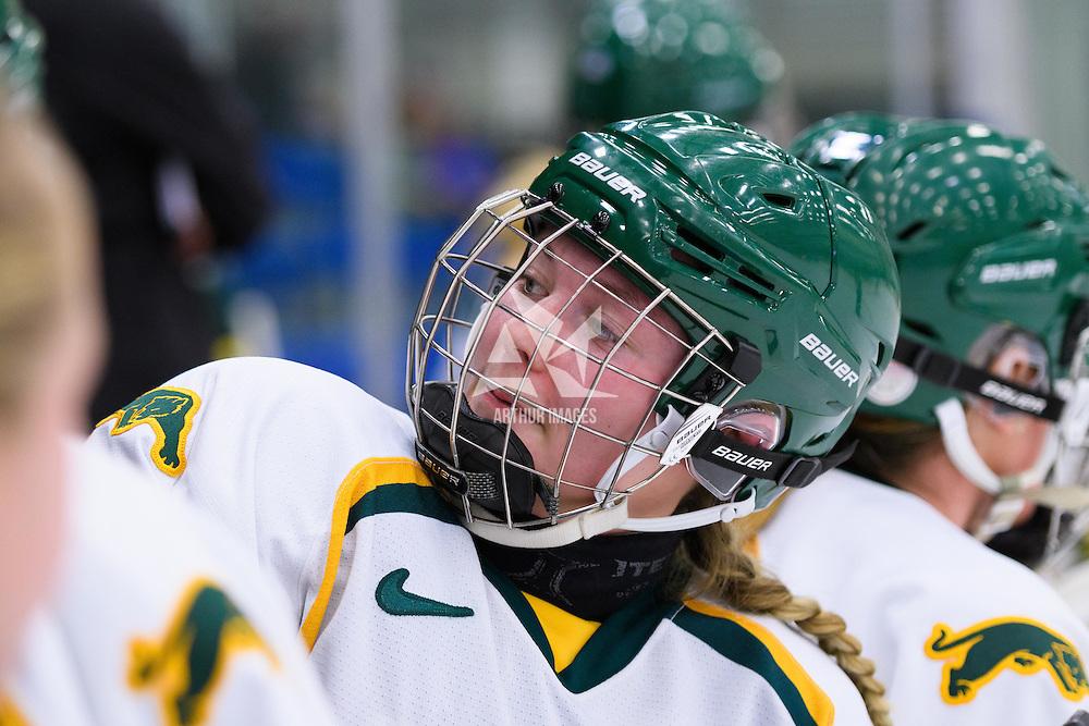 Women's Hockey Game on November 25 at Co-operators arena. Credit: Arthur Ward/Arthur Images