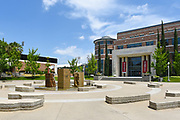 Attallah Piazza and Leatherby Libraries at Chapman College