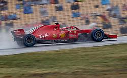 July 21, 2018 - Hockenheim, Germany - Motorsports: FIA Formula One World Championship 2018, Grand Prix of Germany, ..#5 Sebastian Vettel (GER, Scuderia Ferrari) (Credit Image: © Hoch Zwei via ZUMA Wire)