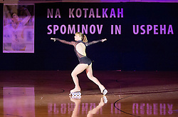 Silvia Marangoni performs during special artistic roller skating event when Lucija Mlinaric of Slovenia, World and European Champion ended her successful sports career, on November 7, 2015 in Rence, Slovenia. Photo by Vid Ponikvar / Sportida