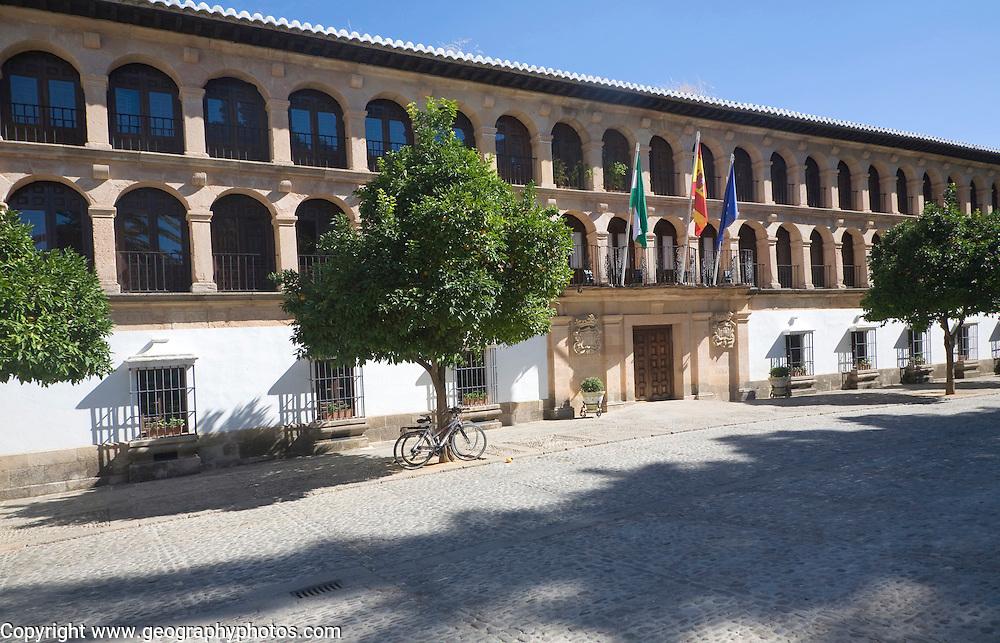 Ayuntamiento City Hall building built in 1734 Ronda, Malaga province, Spain