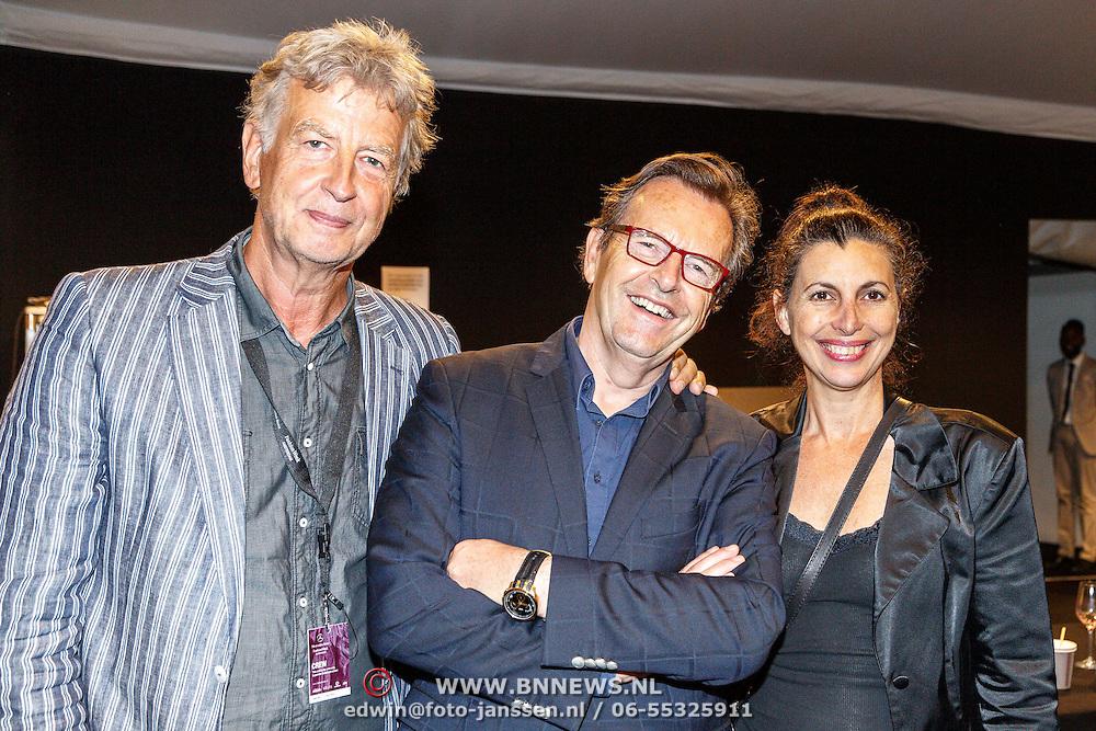 NLD/Amsterdam/20150712 - AFW2015 Summer, Hans Konings en advocaat Pim de Vos
