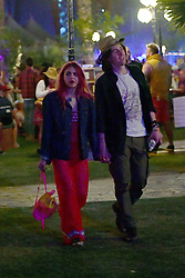 EXCLUSIVE: Frances Bean Cobain and her boyfriend Matthew Cook hit up Coachella. 13 Apr 2018 Pictured: Frances Bean Cobain and Matthew Cook. Photo credit: Snorlax / MEGA TheMegaAgency.com +1 888 505 6342