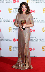 Jane McDonald with the Features award for Cruising with Jane McDonald in the press room at the Virgin TV British Academy Television Awards 2018 held at the Royal Festival Hall, Southbank Centre, London.