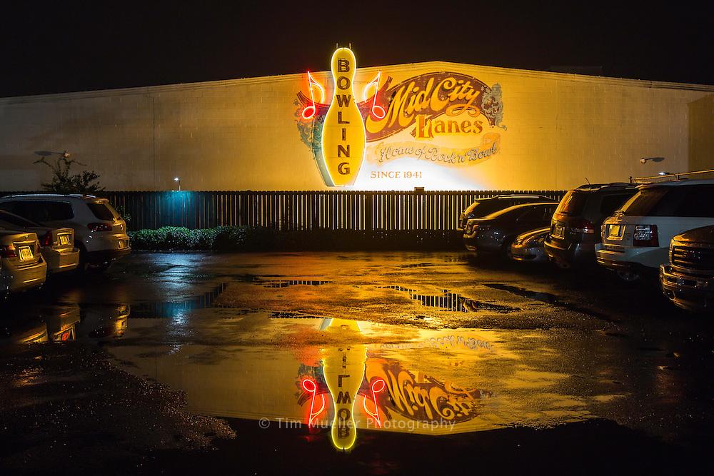Rock 'n' Bowl music venue in New Orleans, La.