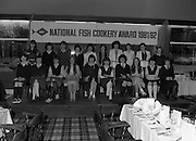 """The National Fish Cookery Award""..29.04.1982..04.29.1982.29th April 1982.1982..This competition sponsored by Bord Iascaigh Mhara was held in The Clare Inn, Newmarket-on Fergus,Co Clare. the competition was open to schools across the country..The finalists:(L-R) Front Row. Edel McCormack,Roscommon. Maura Geaney,Galway. Dorothy Branley,Sligo. Ruth O'Connor,Roscommon. Deirdre Nolan,Carlow. Josephine Brennan,Carlow. Evelyn Corrigan,Wexford. Miriam Henshaw,Dublin. Ruth Jackson,Dublin..Back row. Una Daly,Wicklow. Katriona Power,Dublin. Grainne Finnan,Monaghan. Martina Jordan,Longford. Sarah Gilhooley,Westmeath. Catherine O'Sullivan,Laois. Jacqueline Williams,Cork. Caroline Tutty,Waterford. Martha Browne, Kerry. Rosanna Stone, Tipperary."