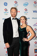 British rower Will Satch during Team GB's annual ball at Old Billingsgate on the 21st November 2019 in London in the United Kingdom.