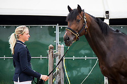 Mason Emily, GBR, Lucky Boy<br /> Knokke 2018 Summer Circuit week 2<br /> © Hippo Foto - Sharon Vandeput<br /> 13/07/18