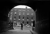 1962 - Desmond Guinness at ESB Georgian houses,  Lower Fitzwilliam Street