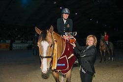 Ruant Julie Pascale (BEL) - Picobello Talent<br /> CSI-W Mechelen 2008<br /> Photo © Dirk Caremans