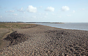 Orford Ness spit, Shingle Street, Suffolk, England