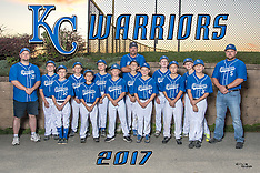 KC Warriors Team & Individual October 17, 2017