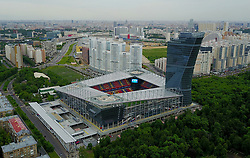 June 9, 2017 - Moscow, Russia - CSKA stadium, VEB arena, football team CSKA home stadium (Credit Image: © Russian Look via ZUMA Wire)