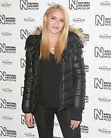 Daisy Robins, Natural History Museum Ice Rink - Launch Event, London UK, 25 October 2017, Photo by Brett D. Cove