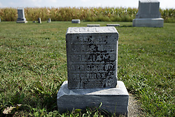 23 September 2017:  Rolla Williams. West Union Cemetery is located on the north side of Illinois Rt 9 between Danvers and Mackinaw.  It is located within McLean County