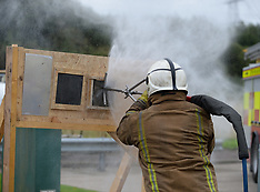 New £7.6 million GBP firefighting system launched in Scotland, Cambuslang, 28 August 2018