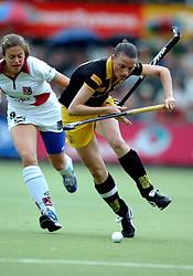 20-05-2007 HOCKEY: FINALE PLAY OFF: DEN BOSCH - AMSTERDAM: DEN BOSCH <br /> Den Bosch voor de tiende keer op rij kampioen van de Rabo Hoofdklasse Dames. In de beslissende finale versloegen zij Amsterdam met 2-0 / Mijntje Donners en Anne Maaike Elsen<br /> ©2007-WWW.FOTOHOOGENDOORN.NL