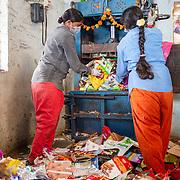India (waste)