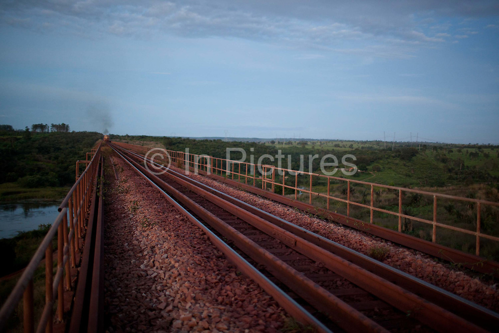 Carajas railway is privately owned and operated by Vale, it runs for 900km from Sao Luis, Maranhao to Paraepebas, Para, Brazil. The Carajas Open Cast Iron Ore mine is the largest iron mine in the World, estimates say the site can be mined at today's rates for another 400 years. In the Amazonian State of Para, Brazil, it is operated by the State owned Vale mining corporation, prevoously CVRD. The company has come under some controversy about the mine, and recently has started expanding the mine on the site of a series of ancient caves.
