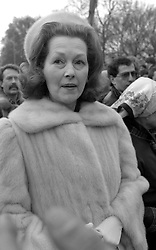 1981<br /> Lady Raine Spencer at Buckingham Palace