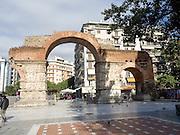 Greece, Macedonia, Thessaloniki, Arch of Galerius