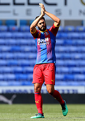 Crystal Palace's James Tomkins during the pre-season friendly match at the Madejski Stadium, Reading.