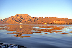 Baja Mainland From Sea Of Cortez