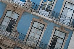 Old Building Exterior, Lisbon, Portugal