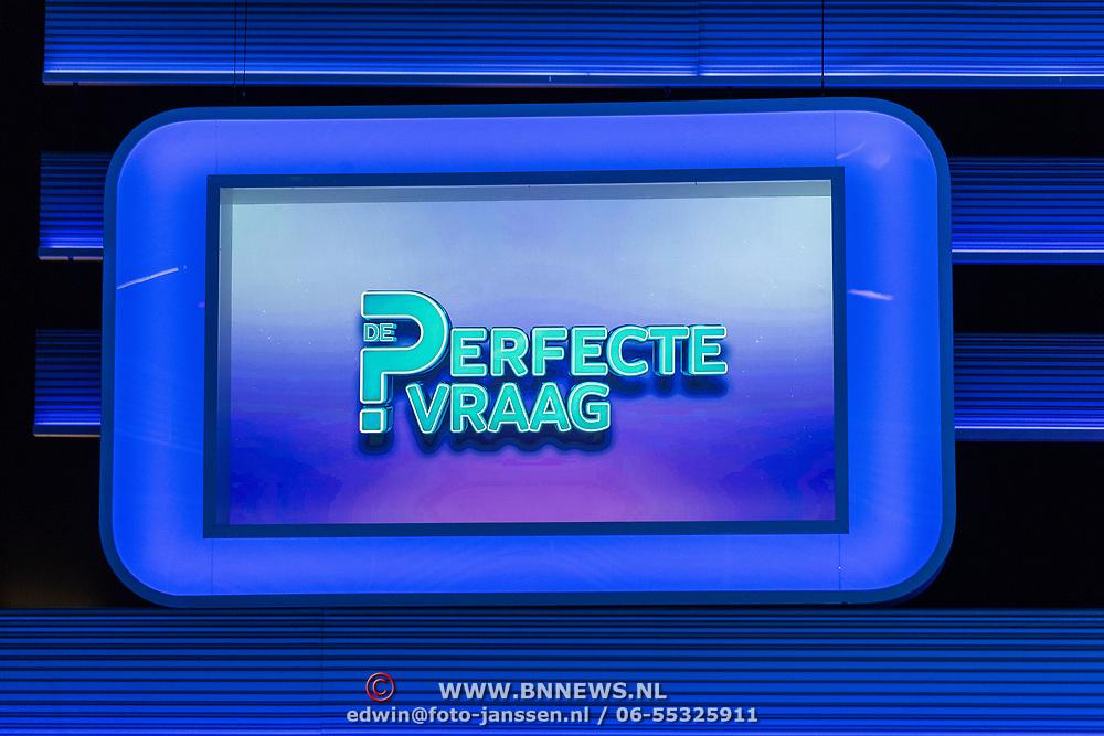 NLD/Baarn//20170822 - Presentatie Sbs programma's Mensenkennis en De Perfecte Vraag, Logo