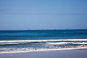 Oil rig platforms off CA coast