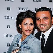 NLD/Amsterdam/20130207 - Presentatie Talkies Men 2013, Kristina Bozilovic en partner Tamar Gonen