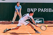 Ilya Ivashka (blr) during the Roland Garros French Tennis Open 2018, Preview, on May 21 to 26, 2018, at the Roland Garros Stadium in Paris, France - Photo Pierre Charlier / ProSportsImages / DPPI