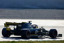 February 28, 2019 - Montmelo, BARCELONA, Spain - Daniel Ricciardo (Renault F1 Team) RF19 car   , seen in action during the winter testing days at the Circuit de Catalunya in Montmelo (Catalonia), Thursday, February 28, 2019. (Credit Image: © AFP7 via ZUMA Wire)