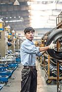 China / Anhui / Hefei <br /> <br /> Giti Tyre Anhui Plant , Production <br /> <br /> © Daniele Mattioli China Corporate Photographer for Giti