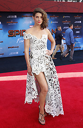 Cobie Smulders at the World premiere of 'Spider-Man Far From Home' held at the TCL Chinese Theatre in Hollywood, USA on June 26, 2019.