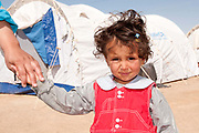 Tunisia 2011. Remada camp for Libyan refugees - around 300 families are there (most Libyans are with host families). Two year old Marwan.