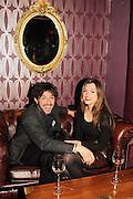 ALEX ZANE; IRAINA MANCINI, The VIP night for Cirque Du Soleil: Quidam at  the Royal Albert Hall, London. 7 January 2013