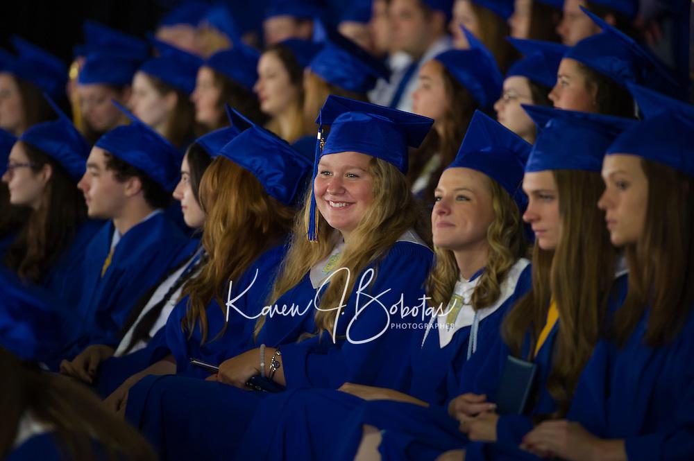 GHS Graduation at Meadowbrook.  ©2016 Karen Bobotas Photographer