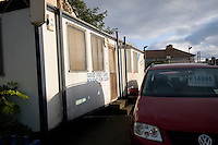 Used car sales bought for cash, a car lot in Glasthule, Dublin, Ireland.