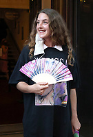 Louisa Harland at the  'Alyssa, Memoirs of a Queen' gala performance, Vaudeville Theatre, The Strand, London, UK - 10 Jun 2021 photo by Roger Alarcon