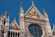 Facade of the Duomo di Santa Maria Assunta, Siena Cathedral