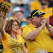 ORLANDO, FL - JANUARY 01:  Missouri fans cheer during the Buffalo Wild Wings Citrus Bowl between the Minnesota Golden Gophers and the Missouri Tigers at the Florida Citrus Bowl on January 1, 2015 in Orlando, Florida. (Photo by Alex Menendez/Getty Images) *** Local Caption ***