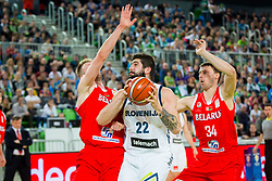 Ziga Dimec of Slovenia during basketball match between Slovenia and Belarus in Round #1 of FIBA Basketball World Cup 2019 European Qualifiers, on November 24, Arena Stozice, Ljubljana, Slovenia. Photo By Ziga Zupan / Sportida