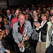 NLD/Huizen/20100917 - South Sea Jazz Huizen 2010, optreden Hans Dulfer band