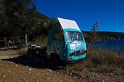 Old truck at Komiza, Vis, Croatia